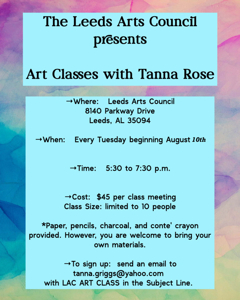 Art Classes with Tanna Rose