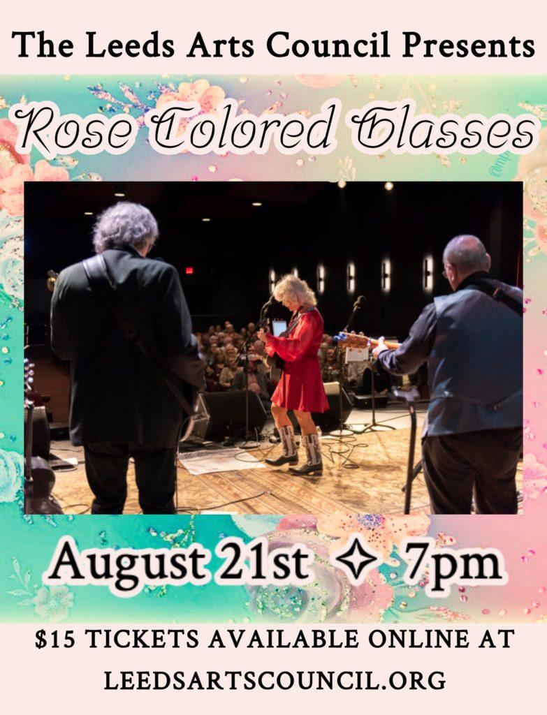 Rose Colored Glasses @ Leeds Arts Center